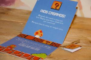 invitación cartucho NES
